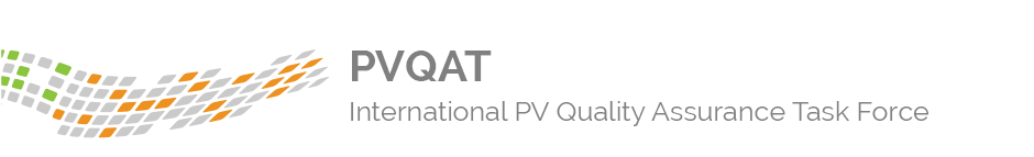 PVQAT - Internaltional PV Quality Assurance Task Force